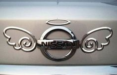 Customise your car with this cute #angel #car #metal #sticker!