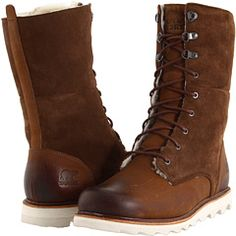 Sorel is making non-stupid-looking boots for ladies this year! (reader, I bought them, they are the coziest boots)
