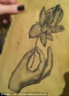 Talent: Cally-Jo started posting pencil sketches of her designs online. T