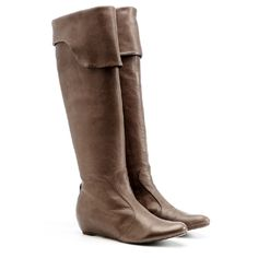 These can be worn with cuff folded up over the knee.