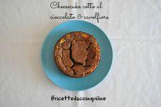 Cheesecake cotto al cavolfiore e cioccolato! NY Cheesecake cullyflower and chocolate