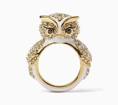 Beautiful Owl Ring