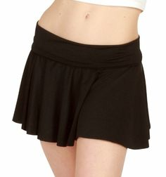 Black S Body Wrappers Skirt 0217