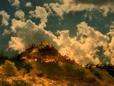 Sera sul Castello di Rossena