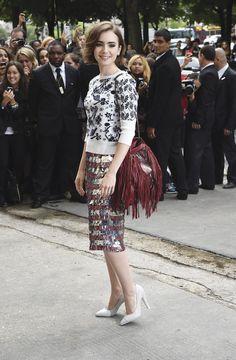 Los bolsos más icónicos de la temporada Lily Collins