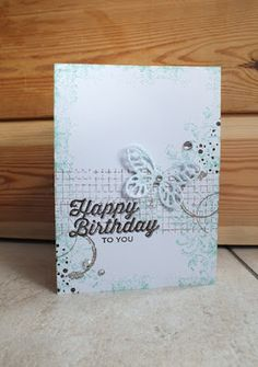 Magical Scrapworld: Happy birthday to you, bold butterfly, cards, perfect pairings, spring catalogue 2016, Stampin' Up!,  timeless textures