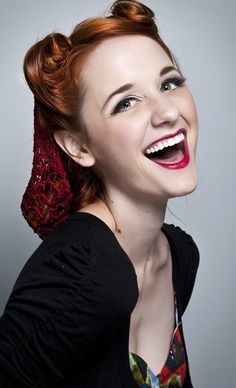 Laura Spencer (Jane Bennett in The Lizzie Bennett Diaries on YouTube).  Why is she so adorable?!?!