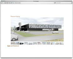 Projekt: lynx architecture. Flash Website für Münchner Architekten mit XML-gesteuerter Slideshow