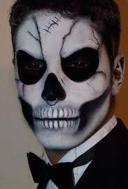 Картинки по запросу halloween make up man