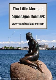 Little Mermaid statue in Copenhagen has become a symbol of Copenhagen. It represents a fairy tale character created by Hans Christian Andersen. Little Mermaid Statue, The Little Mermaid, Cartoon Network Adventure Time, Adventure Time Anime, Baltic Sea Cruise, Denmark Travel, Denmark Europe, Europe Travel Guide, Travel Plan