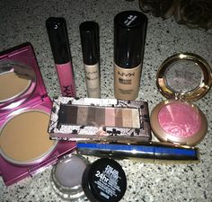 Look for less using drugstore makeup