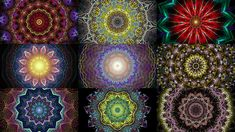 The Splendor of Color: A Kaleidoscope Video