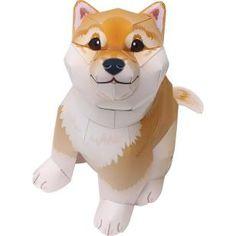 柴犬,動物,ペーパークラフト,動物,ペーパークラフト,ペットシリーズ,哺乳類,かわいい,犬