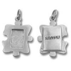 Autism Awareness Photo Picture Frame Charm