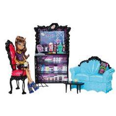 Mattel - Monster High - X3721 - poupées mannequins - Coffret Clawdeen et son café Post mortem (poupée incluse): Amazon.fr: Jeux et Jouets