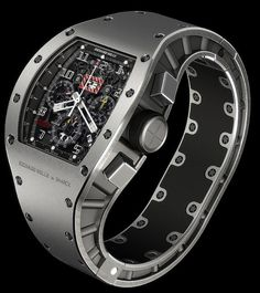 For men: Richard Mille watch by my fav designer: Starck, Monaco 2007 auctioned for 320 000 €
