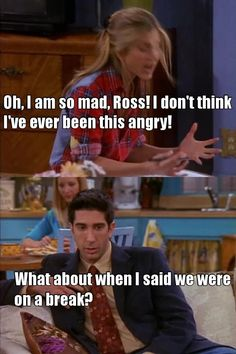 Lol bad timing Ross