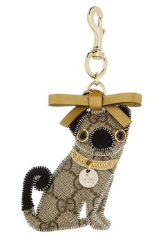 Does this really exist? My word, I need this keychain.     Gucci Pug Key chain