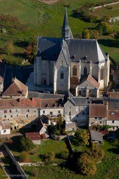Collégiale Saint Jean Baptiste : Montrésor - Indre-et-Loire (37) built in the 16th century