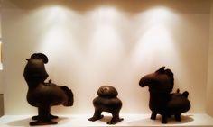 """Mostra """"VISIONI ONIRICHE"""" Sculture in #terracotta #GigiPedroli - #MIDeC - #Cerro foto ©AdaCeretti"""