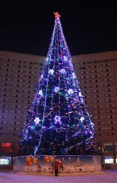 Christmas in Murmansk, Russia