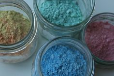 DIY Chalk Paint (something to do with the leftover chalk bits!)
