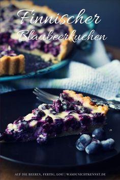 Finnischer Blaubeerkuchen, ein Klassiker unter den Heidelbeerkuchen. Schnell zubereitet, einfache Zutaten, herrlich lecker im Geschmack. Probiert es aus!