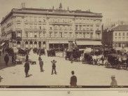 Ilyen is volt Budapest - 1894 táján, Gizella (Vörösmarty) tér Budapest, Paris Skyline, Travel, Viajes, Trips, Traveling, Tourism, Vacations
