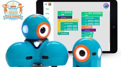Wonder Workshop Dash and Dot Robot Pack Project Based Learning, Student Learning, Teaching Kids, Kids Learning, Dash And Dot Robots, Wonder Workshop Dash, Programmable Robot, Cool Robots, Tech Toys