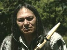 Charles Littleleaf on the Native American Flute....I have always love his music and his spirit in each of his flutes...