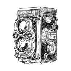 Hand Draw Camera Clipart Photo Camera Clipart Vintage Camera Clipart Source by etsy Clip Art Vintage, Images Vintage, Vintage Drawing, Camera Sketches, Camera Drawing, Antique Cameras, Vintage Cameras, Vintage Camera Tattoos, Clipart Photo