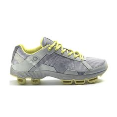 High End Running Shoe: On Cloudster Glacier/Limelight Women's Running Shoe - 2012 Model