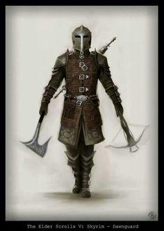 Skyrim: Dawnguard armor