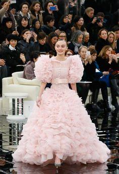 PICS: Lily-Rose Depp Rocks Massive Princess Dress on Chanel Runway