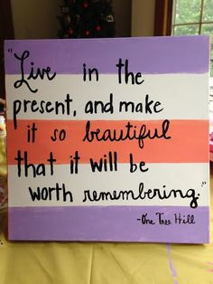 One Tree Hill Quote Canvas by ClassyChicCanvas on Etsy