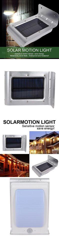 Farm Garden 8LED Solar Power PIR Motion Sensor Wall Light Outdoor