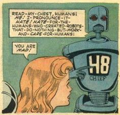 Less talk, more robot violence, please.