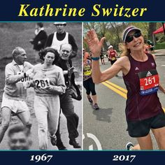 What's Current: Kathrine Switzer ran the Boston Marathon 50 years after an official tried to kick her off the route for being female