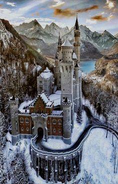 Alemania Castillo de Baviera