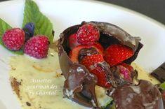 Sphère chocolat pour un dessert surprise   Assiettes Gourmandes