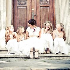 Why do we have flower girls?? Read on to find out how these little cuties have become a wedding tradition! {Ruben Hestholm}