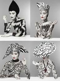 Risultati immagini per einat dan body painting