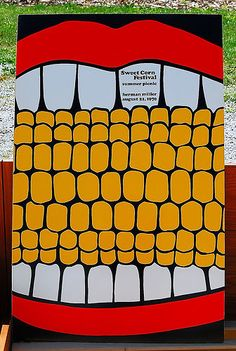 1970s vintage posters for Herman Miller's company summer picnic