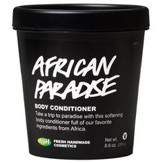 Take a trip to paradise with this gorgeous Body Conditioner full of our favorite ingredients from Africa. We've blended Fair Trade shea butter and Fair Trade Moringa oil from Ghana to soften and nourish the skin, and cooling Fair Trade aloe gel from Kenya to soothe. The elegant fragrance is a unique blend of ylang ylang, vanilla and Kalahari melon oil creating a delicately spiced floral scent that lingers softly on the body. Simply massage into the skin, then rinse clean and pat dry for…