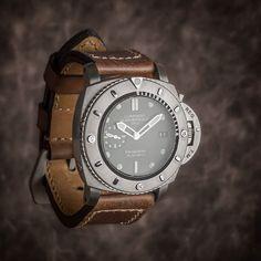 "@panerai Pam364 (PAM00364) & ""339"" strap series by @gunnystraps #panerai #paneristi #watches #watchporn #watchworld #watchmania #erwangrey #gunnystraps by erwan_grey #panerai"