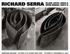 Shop - Richard Serra - Blind Spot / Open Ended Poster - Gagosian Gallery