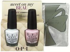OPI Holiday 2013: Sweet On My Beau Set (Alpine Snow & Sweetheart)