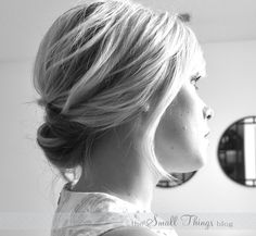 Chic Updo for short hair