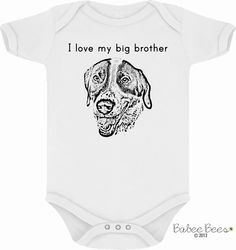 YOUR DOG Dog Baby Clothes Puppy Baby Clothes Unique by BabeeBees, $15.00