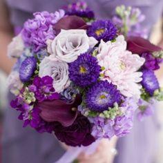 A Swanky Purple & Lavender Virginia Roof Top Wedding